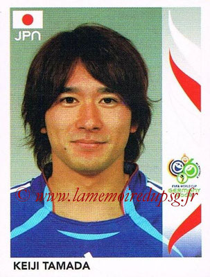 2006 - Panini FIFA World Cup Germany Stickers - N° 452 - Keiji TAMADA (Japon)