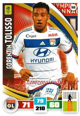 2016-17 - Panini Adrenalyn XL Ligue 1 - N° 160 - Corentin TOLISSO (Lyon)
