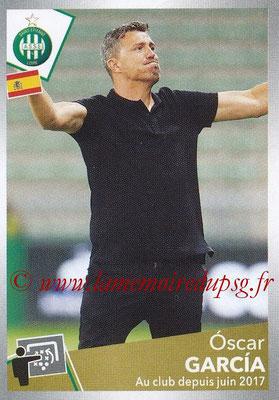 2017-18 - Panini Ligue 1 Stickers - N° 438 - Oscar GARCIA (Saint-Etienne)