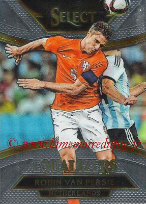 2015 - Panini Select Soccer - N° E13 - Robin VAN PERSIE (Pays Bas) (Equalizers)