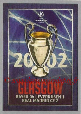 2015-16 - Topps UEFA Champions League Stickers - N° 594 - UEFA Champions League Final 2001-02
