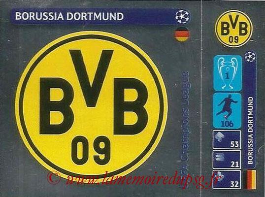 2014-15 - Panini Champions League N° 018 - Logo Borussia Dortmund