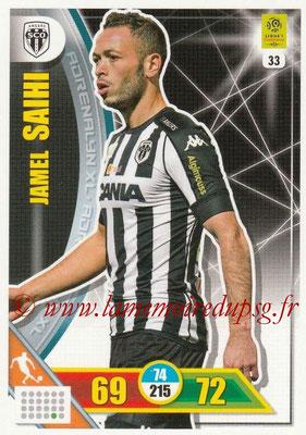 2017-18 - Panini Adrenalyn XL Ligue 1 - N° 033 - Jamel SAIHI (Angers)
