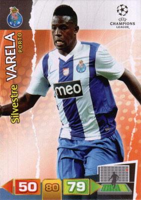 2011-12 - Panini Champions League Cards - N° 222 - Silvestre VARELA (FC Porto)