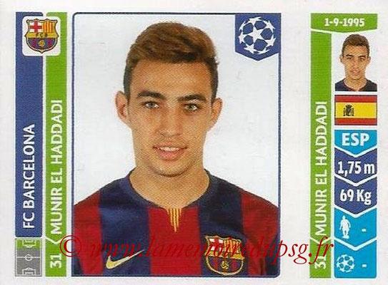 2014-15 - Panini Champions League N° 433 - Munir EL HADDADI (FC Barcelone)
