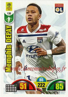 2018-19 - Panini Adrenalyn XL Ligue 1 - N° 135 - Memphis DEPAY (Lyon)