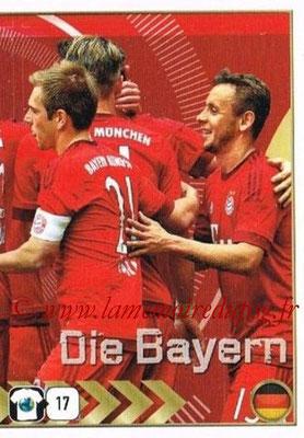2015-16 - Panini FIFA 365 Stickers - N° 478- Equipe FC Bayern Munich 2