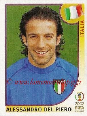 2002 - Panini FIFA World Cup Stickers - N° 471 - Alessandro Del PIERO (Italie)