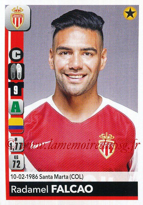 2018-19 - Panini Ligue 1 Stickers - N° 241 - Radamel FALCAO (Monaco)