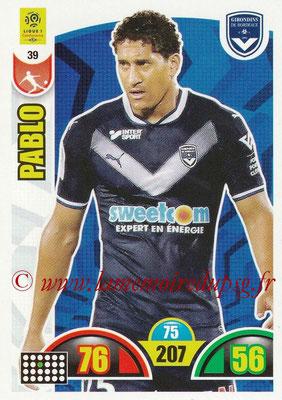 2018-19 - Panini Adrenalyn XL Ligue 1 - N° 039 - PABLO (Bordeaux)