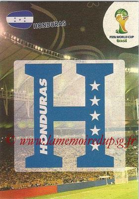 2014 - Panini FIFA World Cup Brazil Adrenalyn XL - N° 187 - Logo Honduras