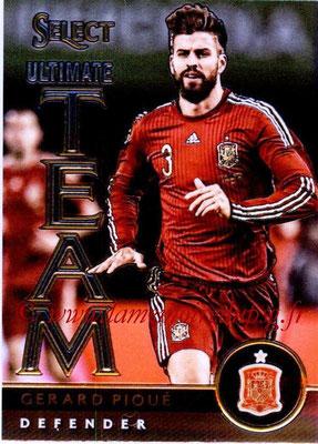 2015 - Panini Select Soccer - N° UT04 - Gerard PIQUE (Espagne) (Ultimate Team)