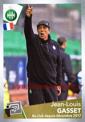 N° T29 - Jean-Louis GASSET (Dec 2000-03, Entraîneur adjoint de Luis Fernandez puis 2013-16, Entraîneur adjoint de Laurent Blanc > Dec 2017-18, Entraîneur Saint-Etienne) (Transfert)