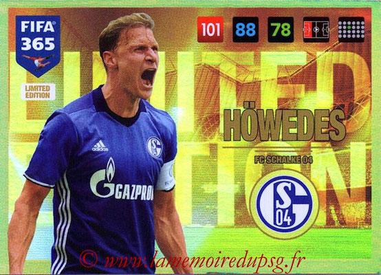 2016-17 - Panini Adrenalyn XL FIFA 365 - N° LE32 - Benedikt HÖWEDES (Schalke 04) (Limited Edition)