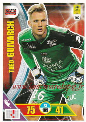 2017-18 - Panini Adrenalyn XL Ligue 1 - N° 102 - Théo GUIVARCH (Guingamp)