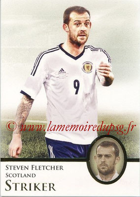 2013 - Futera World Football Unique - N° 076 - Steven FLETCHER (Ecosse) (Striker)