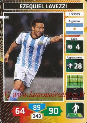 N° 01 - Ezequiel LAVEZZI (2012-??, PSG > 2014, Argentine)