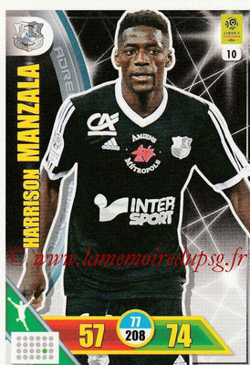 2017-18 - Panini Adrenalyn XL Ligue 1 - N° 010 - Harrison MANZALA (Amiens)