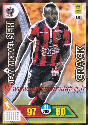 2017-18 - Panini Adrenalyn XL Ligue 1 - N° 458 - Jean Michaël SERI (Nice) (Crack)