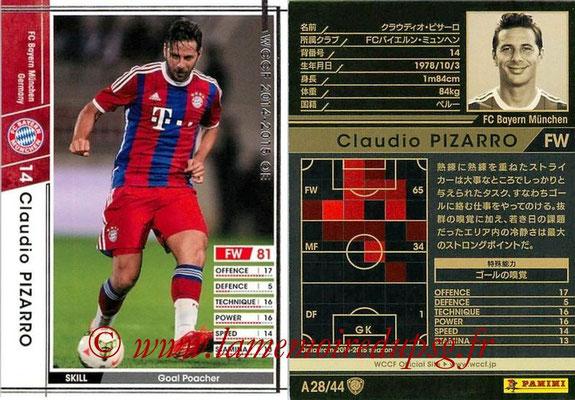 2013-14 - WCCF - N° A28 - Claudio PIZARRO (FC Bayern Munich)
