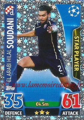 2015-16 - Topps UEFA Champions League Match Attax - N° 431 - El Arabi Hilal SOUDANI (GNK Dinamo Zagreb) (Star Player)