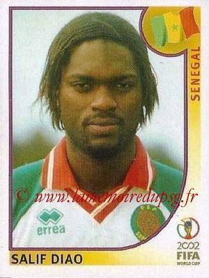 2002 - Panini FIFA World Cup Stickers - N° 054 - Salif DIAO (Sénégal)