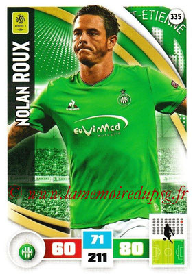 2016-17 - Panini Adrenalyn XL Ligue 1 - N° 335 - Nolan ROUX (Saint-Etienne)