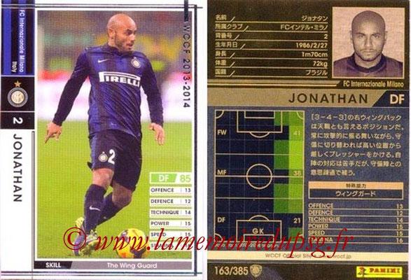 2013-14 - WCCF - N° 163 - JONATHAN (Inter Milan)