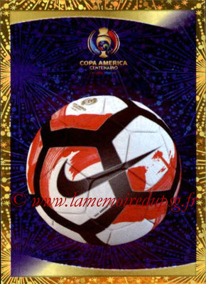 Panini Copa America Centenario USA 2016 Stickers - N° 003 - Ballon officiel