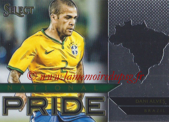 2015 - Panini Select Soccer - N° NP05 - Dani ALVES (Brésil) (National Pride)