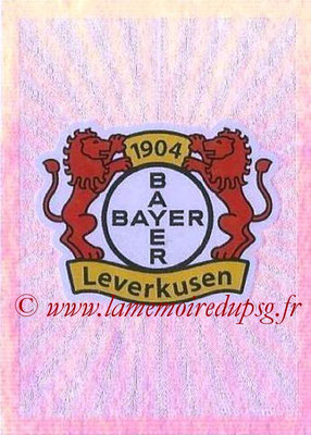 2015-16 - Topps UEFA Champions League Stickers - N° 320 - Logo Bayer 04 Leverkusen