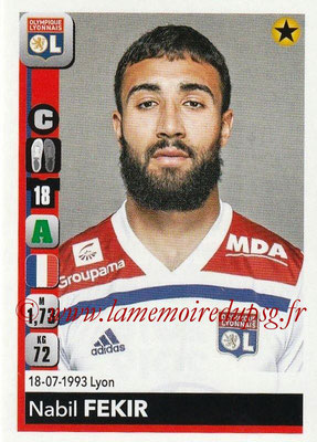 2018-19 - Panini Ligue 1 Stickers - N° 188 - Nabil FEKIR (Lyon)