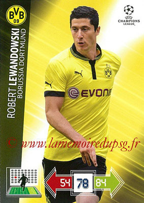2012-13 - Adrenalyn XL champions League N° 081 - Robert LEWANDOWSKI (Borussia Dortmund)
