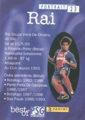 N° 023 - RAI (Verso)