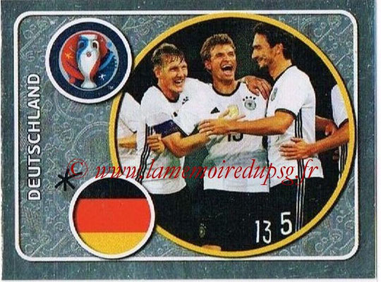 Panini Euro 2016 Stickers - N° 233 - Équipe d Allemagne