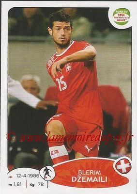 2014 - Panini Road to FIFA World Cup Brazil Stickers - N° 362 - Blerim DZEMAILI (Suisse)