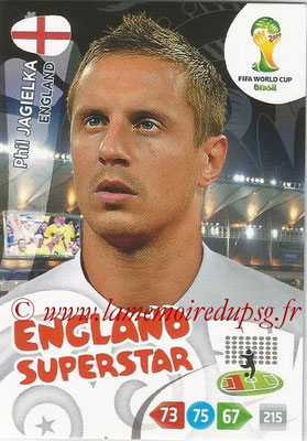 2014 - Panini FIFA World Cup Brazil Adrenalyn XL - N° 130 - Phil JAGIELKA (Angleterre)