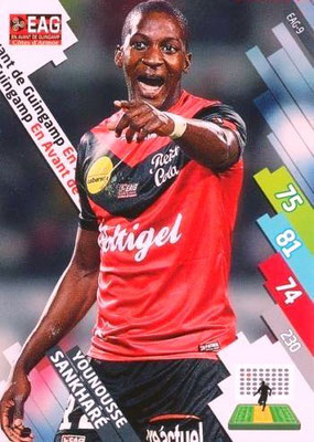 N° 065 - EAG-09 - Younousse SANKHARE (2007-11, PSG > 2014-15, Guingamp)