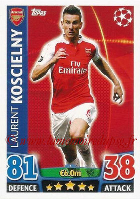 2015-16 - Topps UEFA Champions League Match Attax - N° 002 - Laurent KOSCIELNY(Arsenal FC)