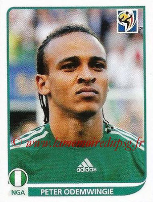 2010 - Panini FIFA World Cup South Africa Stickers - N° 138 - Peter ODEMWINGIE (Nigeria)