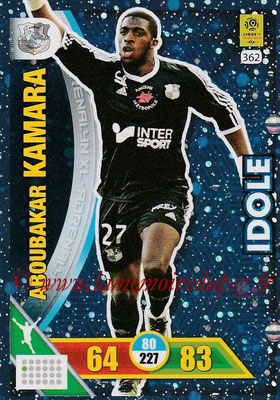 2017-18 - Panini Adrenalyn XL Ligue 1 - N° 362 - Aboubakar KAMARA (Amiens) (Idole)