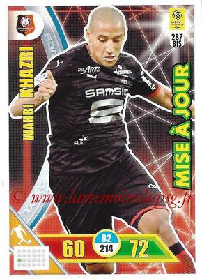 2017-18 - Panini Adrenalyn XL Ligue 1 - N° 287bis - Wahbi KHAZRI (Rennes) (Mise à jour)