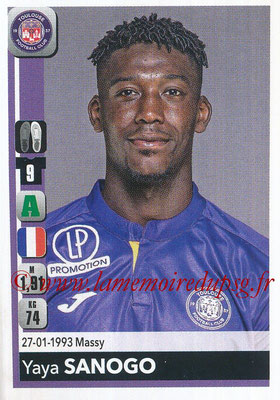 2018-19 - Panini Ligue 1 Stickers - N° 496 - Yaya SANOGO (Toulouse)