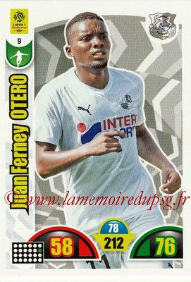 2018-19 - Panini Adrenalyn XL Ligue 1 - N° 009 - Juan Ferney OTERO (Amiens)