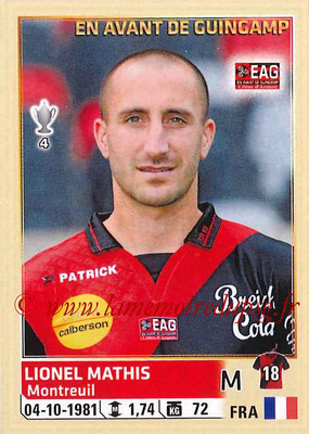 2014-15 - Panini Ligue 1 Stickers - N° 112 - Lionel MATHIS (EA Guingamp)