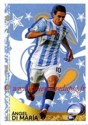 Panini Copa America Centenario USA 2016 Stickers - N° 399 - Angel DI MARIA (Argentine) (En action)
