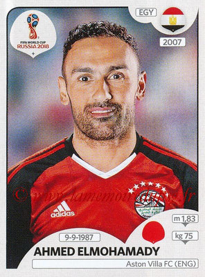 2018 - Panini FIFA World Cup Russia Stickers - N° 076 - Ahmed ELMOHAMADY (Egypte)