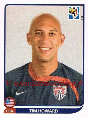 2010 - Panini FIFA World Cup South Africa Stickers - N° 203 - Tim HOWARD (États Unis)