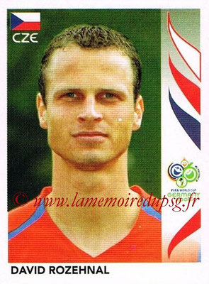 2006 - Panini FIFA World Cup Germany Stickers - N° 365 - David ROZEHNAL (République Tchèque)