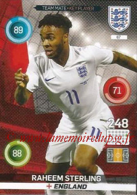 Panini England 2016 Adrenalyn XL - N° 067